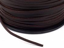 Imitation Leather Flat String width 2.5 mm