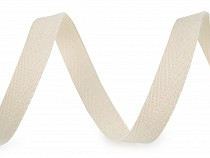 Taśma bawełniana jodełka szerokość 12 mm