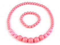 Necklace and Bracelet Set Retro