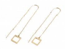 Stainless Steel Dangle Earrings