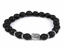 Buddha Bracelet black lava