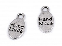 Metal Charm Hand Made 8x15 mm
