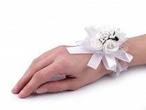 Wrist Corsages / Flower Bridesmaids Bracelet