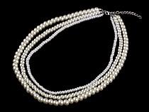 Perlenkette aus mehreren Reihen
