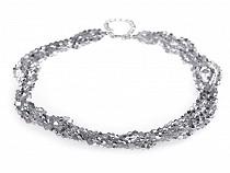 Halskette aus geschliffenen Perlen