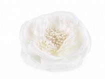 Broșă / clamă de păr trandafir, Ø10,5 cm