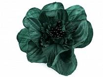 Brooch / Rose with Clip Ø10 cm
