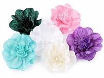 Bross / kitűző rózsa dísz Ø10 cm