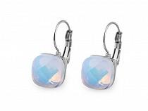 Ohrringe aus Edelstahl mit geschliffenem Stein