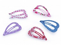 Snap Hair Clips Heart