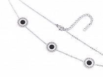 Halskette aus Edelstahl Mandala
