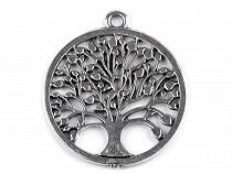 Prívesok strom života Ø34 mm veľký 2. akosť