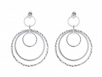 Stainless Steel Drop Earrings