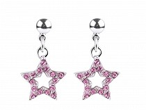 Earrings with Swarovski Elements Star