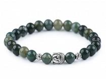 Buddha Bracelet Moss Agate