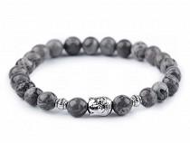 Buddha Armband Jaspis, für Herren