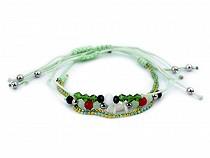 Armband Shamballa aus Glasperlen 3er Set