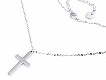 Stainless Steel Necklace Cross