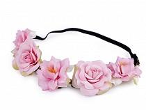 Floral Elastic Headband