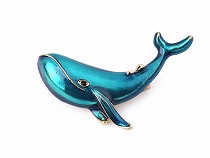 Brooch Whale