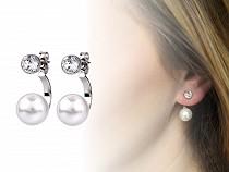 Pearl Earrings with Swarovski Elements