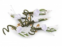 Wedding Boutonniere with Safety Pin
