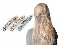 Barrette à cheveux avec strass