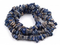 Mineral Chip Beads Sodalite on Nylon String