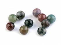 Mineral / Gemstone Beads Agate Ø6 mm
