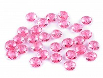 Plastic Faceted Beads 5x8 mm