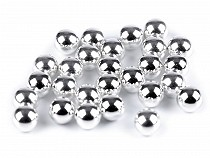 Plastic Round Pearl Rivets Ø 6 mm and 8 mm undrilled / no hole