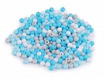 Plastic Beads Matte Ø4 mm