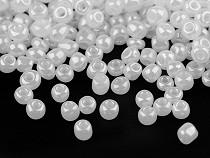 Rokajl 6/0 - 4 mm perleťový, nepriehľadný