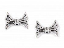 Bow / Butterfly - Spacer, Connector for Jewelry Makings 17x20 mm