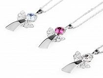 Necklace with Swarovski Elements Rivoli, Angel