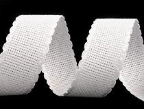 Bandă de etamină pentru brodat, lățime 30 mm