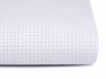 Vyšívací tkanina Kanava šíře 140 cm 46 oček