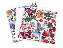 Zestaw tkanin do patchworku 35x35 cm