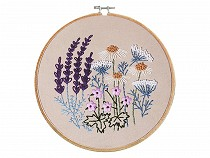 Embroidery Kit / Cross Stitch Set, Pre-printed Pattern