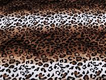 Kunstpelz / Plüsch Leopard