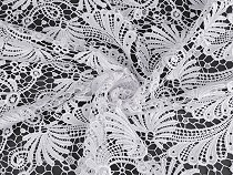 Wedding Lace with double-sided Border