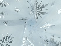 Organza with Snowflakes