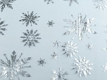 Organza śnieżynki