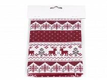 Material textil cu motive de Crăciun, 45x45 cm