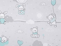 Cotton Fabric Kids Design