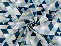 pamut anyag háromszög