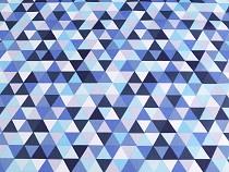 Baumwollstoff Dreiecke