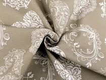 Decorative Fabric Loneta Heart