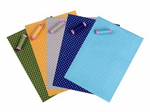 Cotton Polka Dot Fabric with matching Thread