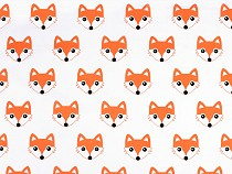 Cotton Fabric, Fox